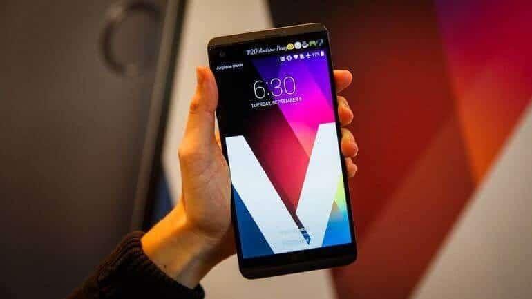 LG V20 60 bin testten geçmiş!