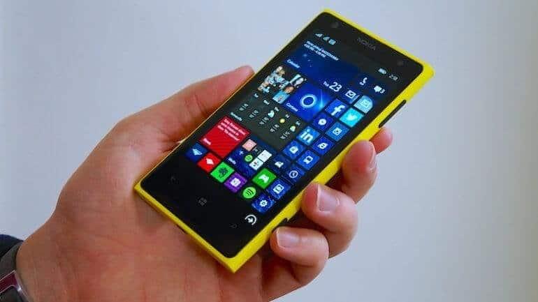 Lumia için veda zamanı