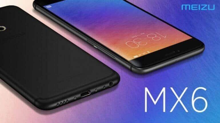 Meizu'dan 3 GB'lık MX6 Versiyonu Geldi