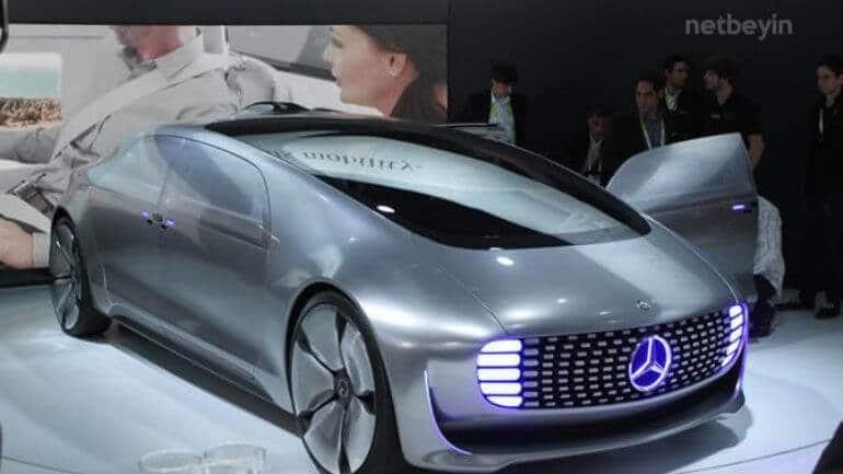 Mercedes çevre dostu makinesiyle geliyor!