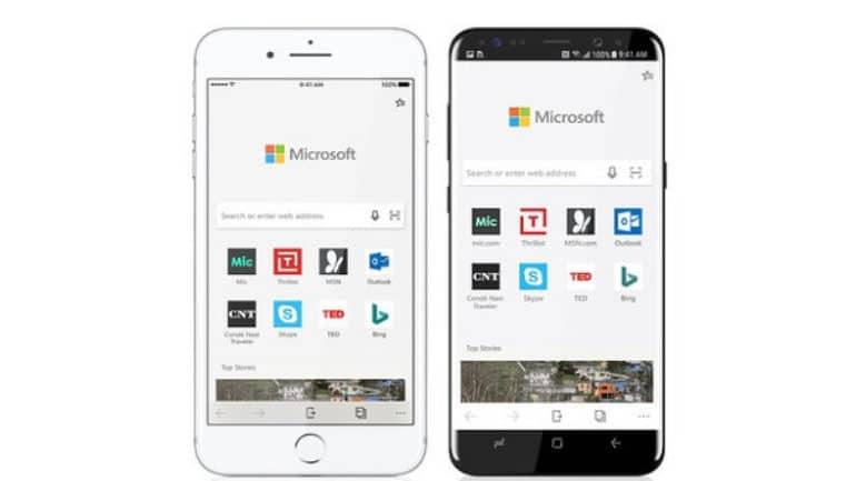 Microsoft Edge mobil versiyonu resmen iOS' da, Android sürümü de yolda