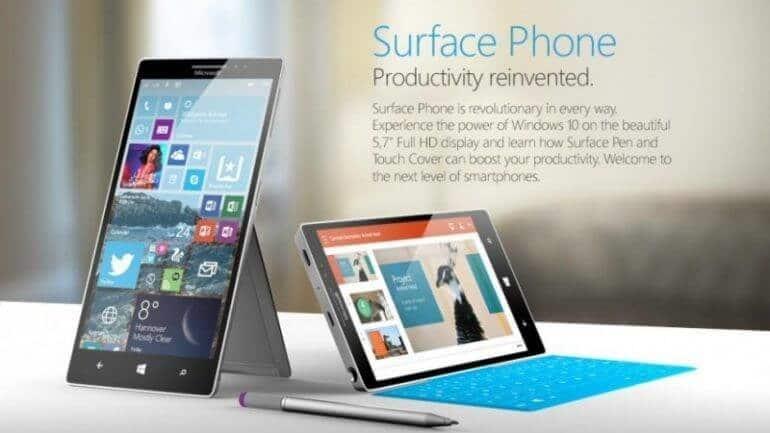 Microsoft'un son kozu: Surface Phone