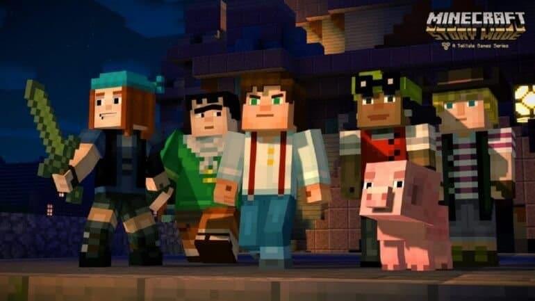 Minecraft: Story Mode çıkış tarihi ve Trailer