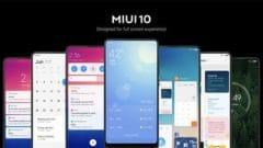 MIUI 10 Alacak Cihazlar
