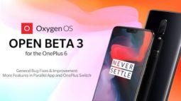 OnePlus 6'ya OxygenOS Açık Beta 3 ile Android 9.0 güncellemesi geldi!