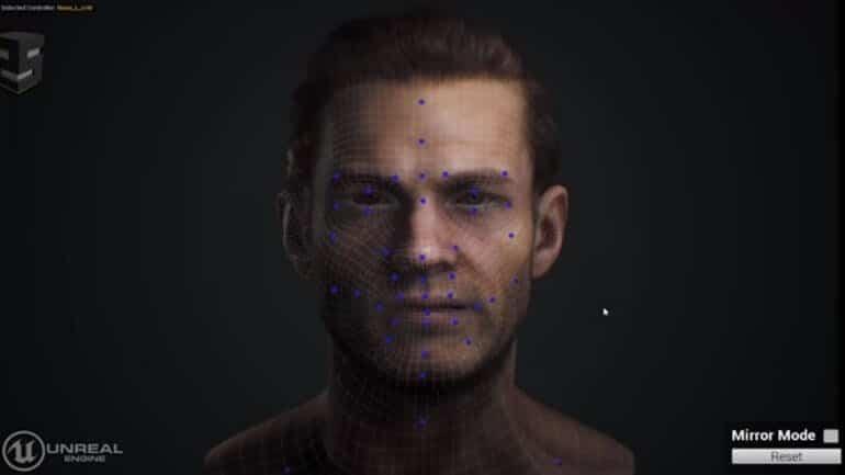 Oyunlar için yeni animasyon teknolojisi (oyunlarda yüz yaratma aracı)