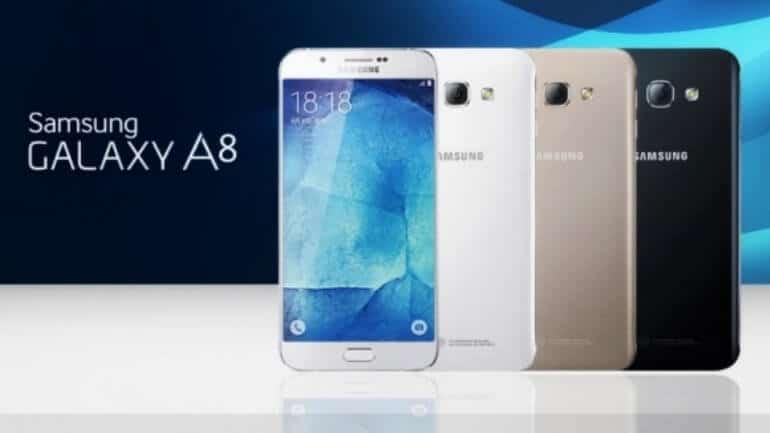Samsung Galaxy A8 yolda