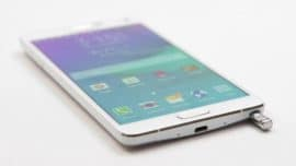 Samsung Galaxy Note 4 hard format atma