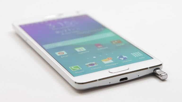 Samsung Galaxy Note 4 hard format atma