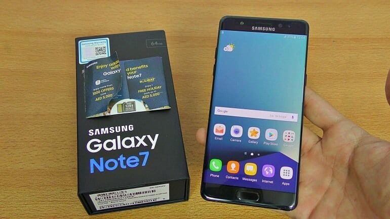 Samsung, Galaxy Note 7 için ilk açıklamayı yaptı