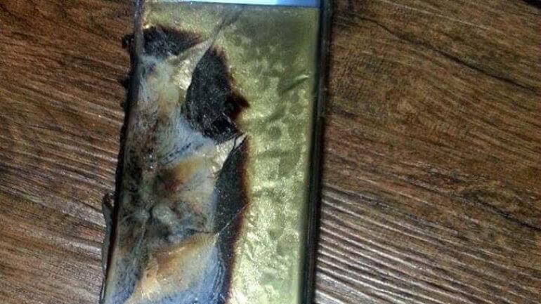 Samsung Galaxy Note 7 şarjdayken patladı