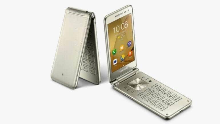 "Samsung'un yeni ""Kapaklı"" akıllı telefonu Galaxy Folder 2"