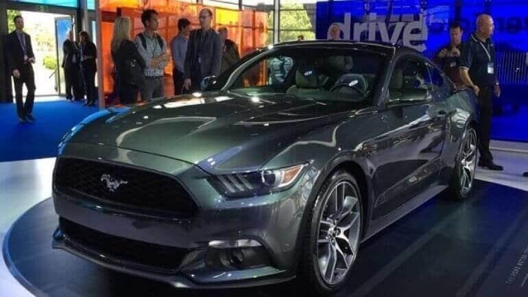 Sessiz çalışan Ford Mustang GT V8!