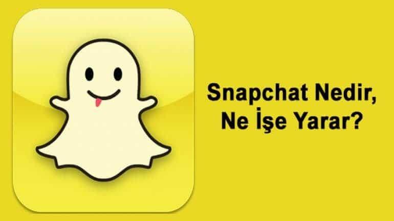 Snapchat nedir, ne işe yarar?