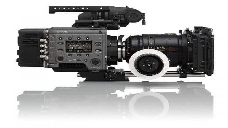 Sony VENICE dijital film kamerası sisteminde Full Frame görüntü yakalama özelliği