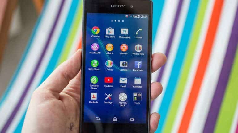 Sony Xperia Z2 hard format atma