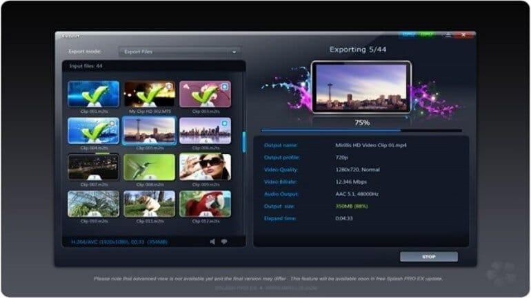 Splash Pro Ex ile FHD videolar izleyin
