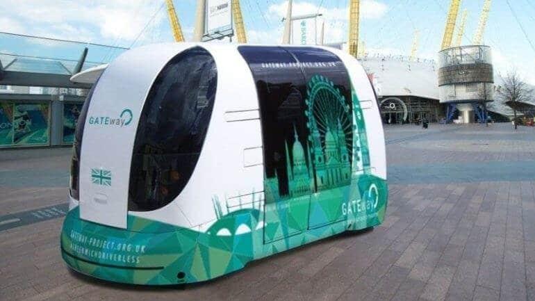 Sürücüsüz otobüsler seferlere başlıyor