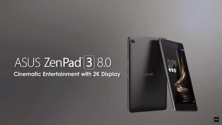 Tablet sektörünün yeni gözdesi Asus ZenPad 3 8.0
