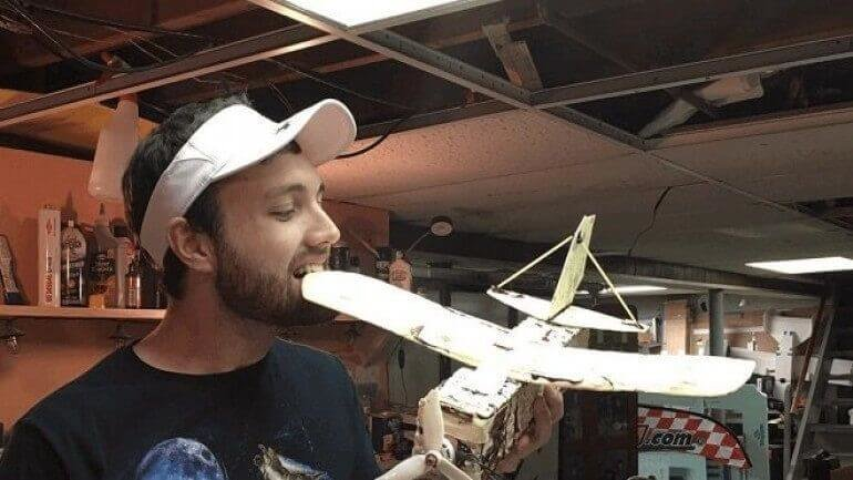 Tortilla ekmeğinden drone!