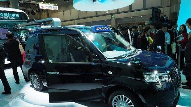 Toyota'nın yeni Japon taksisi ikon olmak istiyor