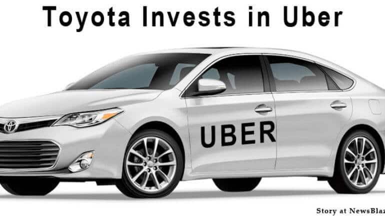 Toyoto'dan Uber'e yatırım !