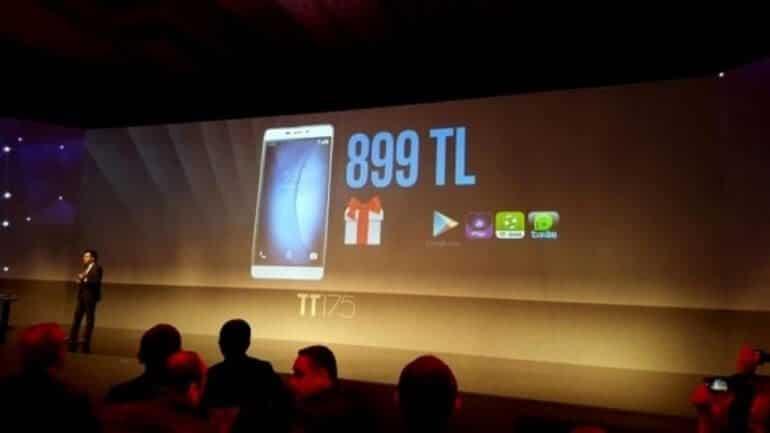 Türk Telekom ilk akıllı telefonu TT175 modelini tanıttı!