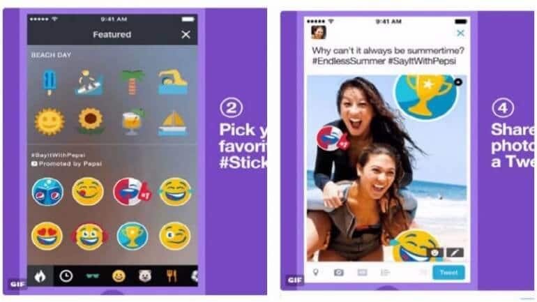 Twitter, markalar için özel sticker satmaya başladı