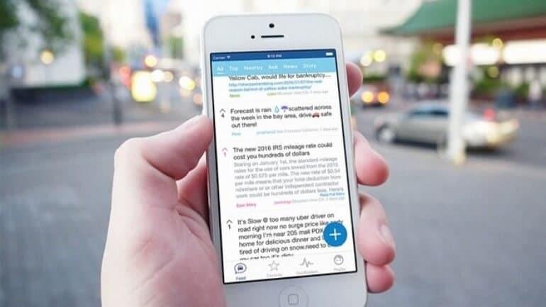 Uber sohbet özelliği ile güvenlik