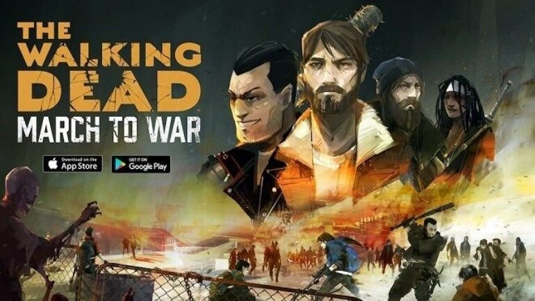 Walking Dead: March to War ücretsiz olarak çıktı