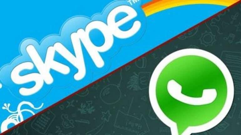 WhatsApp ve Skype için zor günler