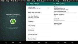 WhatsApp'ı Android'de yedekleme