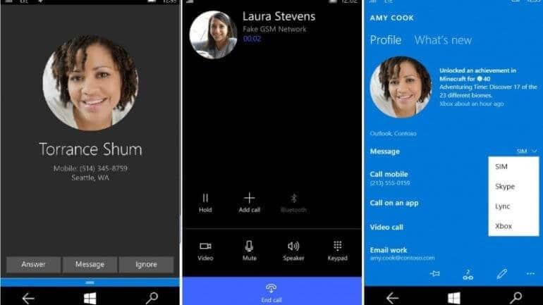 Windows 10 Mobile Skype SMS gönderebilecek!
