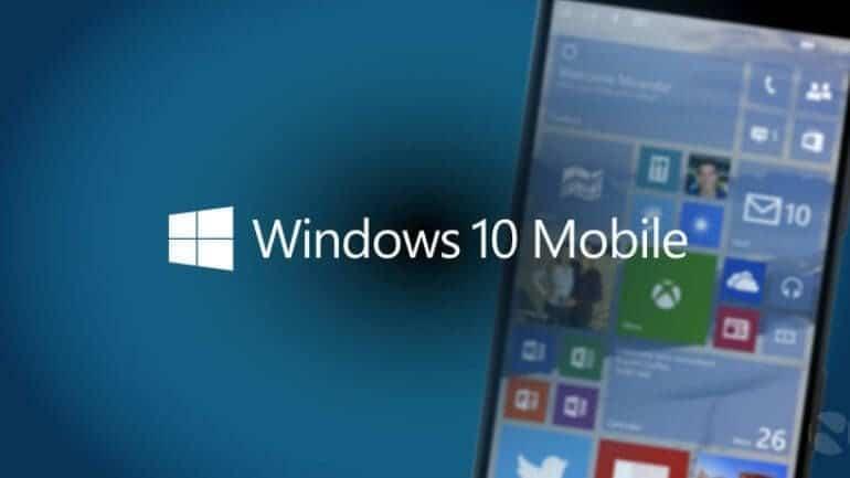 Windows 10 mobile'de değişim başlıyor!