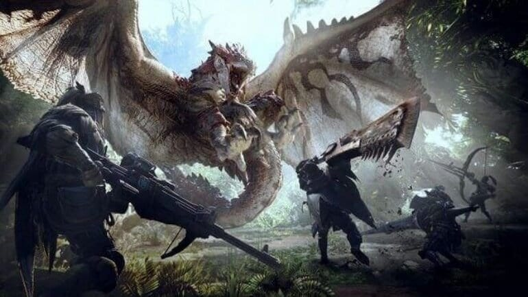 World Capcom'un en çok satan oyunu: Monster Hunter