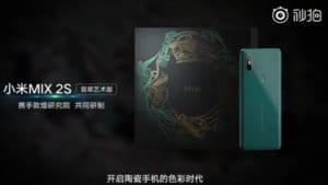 Xiaomi Mi Mix 2S Zümrüt Yeşili Tanıtıldı