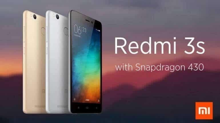 Xiaomi Redmi 3S teknik özellikleri neler?