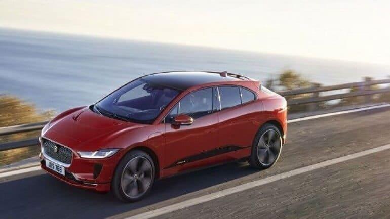 Yeni elektrikli Jaguar I-Pace