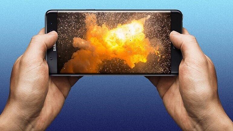 Yeni Galaxy Note7'ler neden çok ısınıyor?
