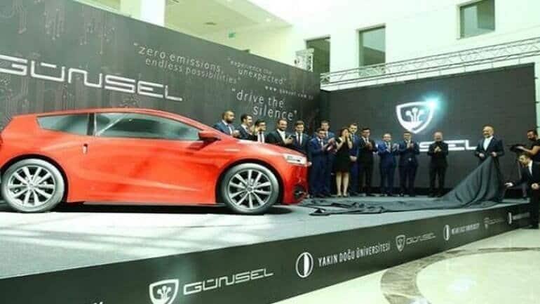 Yeni yerli araba KKTC'den geldi: Günsel