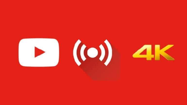 YouTube 4K canlı yayın özelliğini duyurdu!